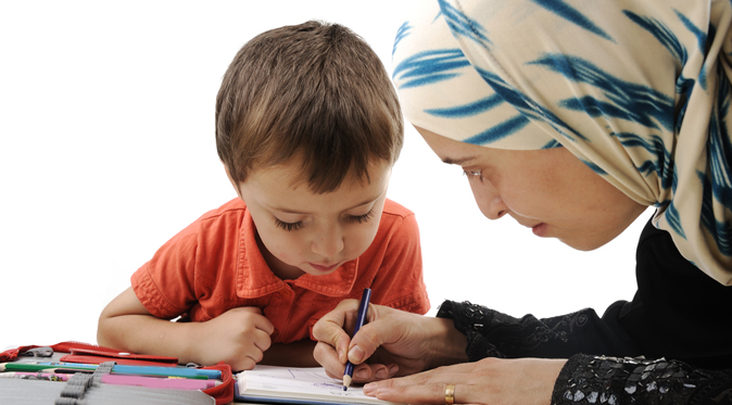 Educate them the Quran with its understandings